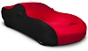 2008-2018 Dodge Challenger Coverking Stretch Car Cover Black/Red