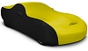 2008-2019 Dodge Challenger Coverking Stretch Car Cover Black/Yellow
