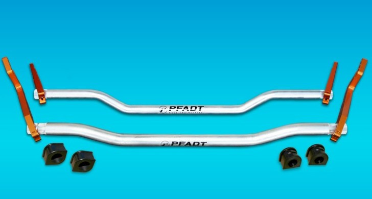 2005-2013 C6 Corvette PFADT Adjustable Sway Bar Kit