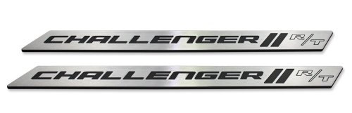 2015 2016 Dodge Challenger Brushed Door Sill Plates