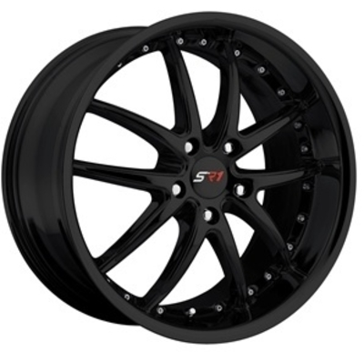 C6 Corvette SR1 Apex Performance Wheels - Black
