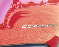 C6 Corvette Stainless Steel Rear Letters Lettering