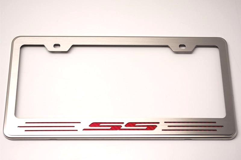 Camaro Ss License Plate Frame Rpidesigns Com