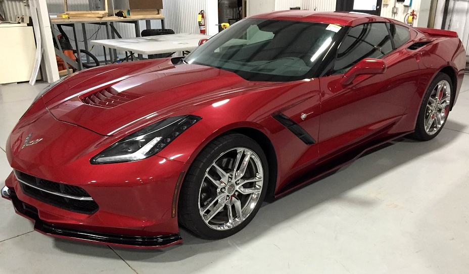 C7 Corvette Stingray Side Skirts Z06 Style Quot Signature