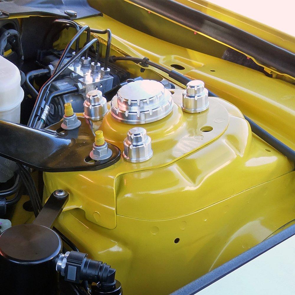 Ford Mustang Billet Strut Tower Cap Covers Rpidesigns Com