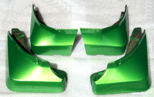 2010-2013 Camaro synergy green splash guards