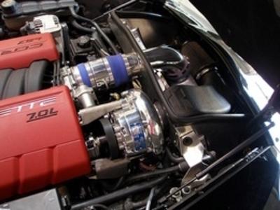 2006 - 2008 C6 Z06 LS7 and 2008 - 2009 C6 LS3 Vortech Supercharger
