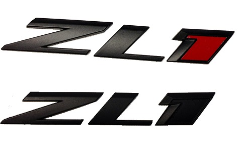2010-2015 Camaro ZL1 Blacked Out Hood Emblem