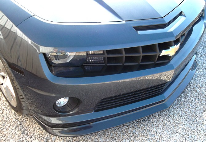 2010-2013 Camaro Front Splitter Pre-Painted - ZL1 Style