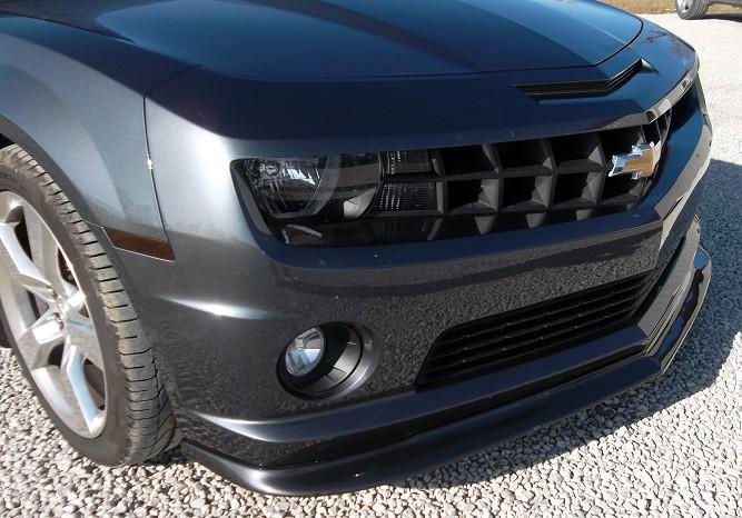Painted Black Splitter  Camaro