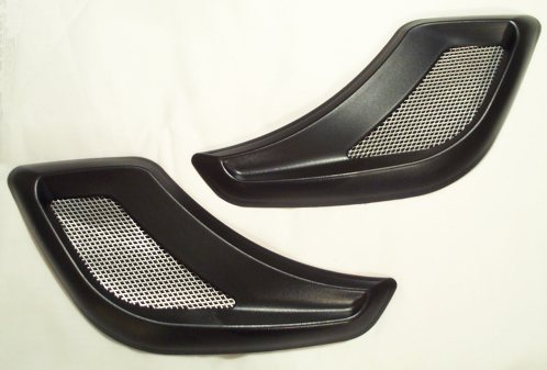 1997-2004 C5 Corvette Screens - Rear Duct
