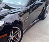 C6 Corvette ZR1 Style Side Skirts