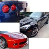 C6 Corvette ZR1 Body Kit - Painted Body Color
