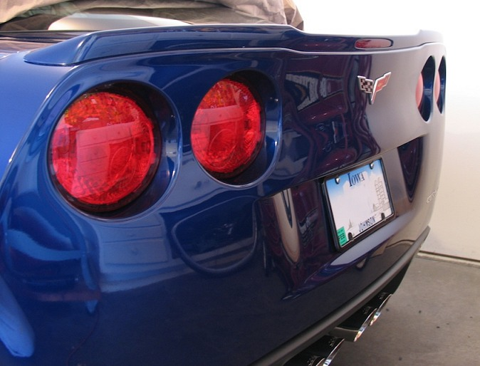 C6 Corvette Painted ZR1 Rear Spoiler