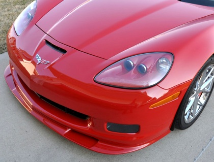 C6 Z06 Z07 Style Front Splitter (Fits Z06, Grand Sport, 427 and ZR1 only)