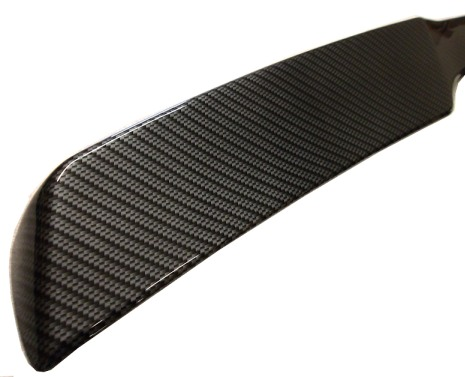 C6 Corvette Hydro Carbon Fiber Finish ZR1 Style Rear Spoiler