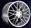 C6 Corvette 2009 ZR1 style Reproduction Chrome Wheels