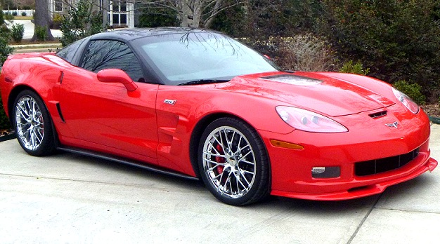 C6 Corvette Body Color Painted Front Chin Splitter