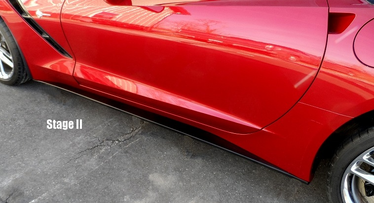 c7 corvette painted side skirts