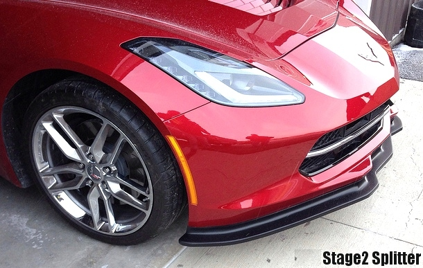 C7 corvette RPI Designs Stage2 Front Splitter